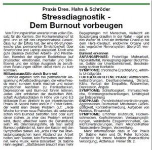 Burnout_Praxis Dres Hahn und Schröder