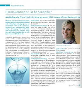 Harninkontinenez Dr Sandra Hartung